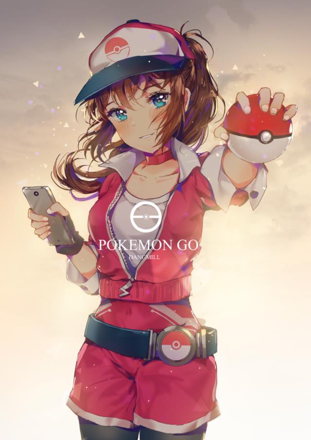 ポケモンGOの女トレーナーさんのエロ画像まとめ -12