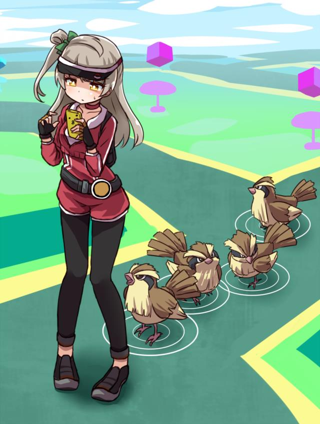 ポケモンGOの女トレーナーさんのエロ画像まとめ -25