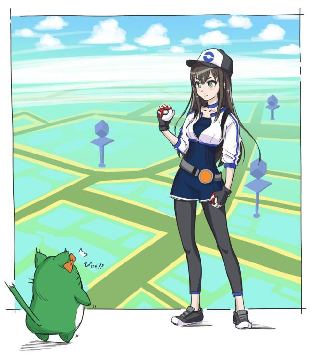 ポケモンGOの女トレーナーさんのエロ画像まとめ -11