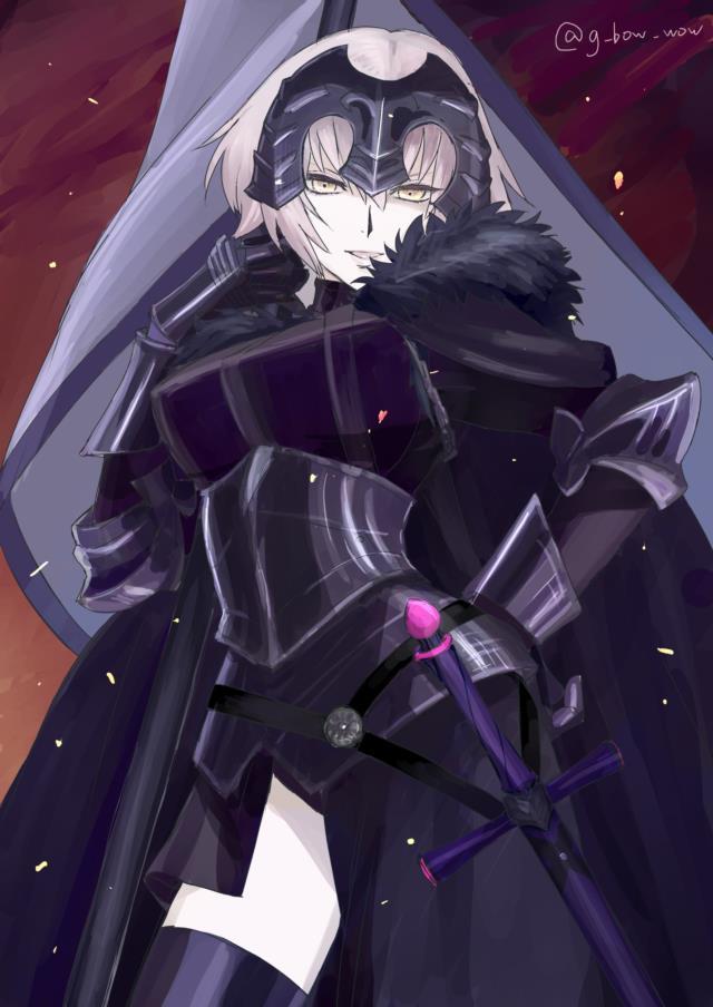Fate/GrandOrder ジャンヌちゃん(オルタさんもね!)のエロ画像まとめ-2