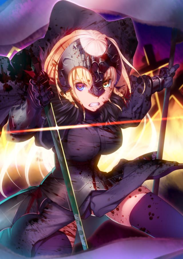 Fate/GrandOrder ジャンヌちゃん(オルタさんもね!)のエロ画像まとめ-3