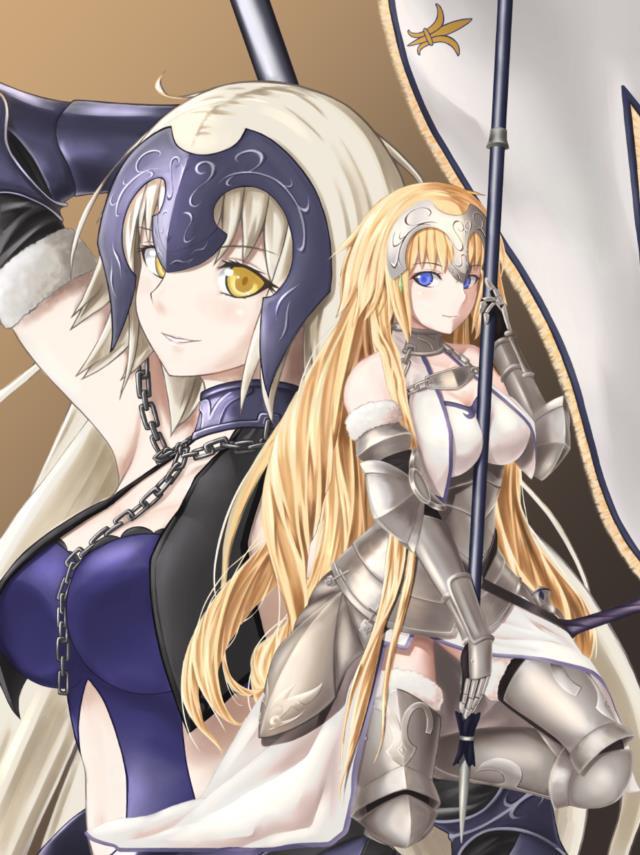 Fate/GrandOrder ジャンヌちゃん(オルタさんもね!)のエロ画像まとめ-23