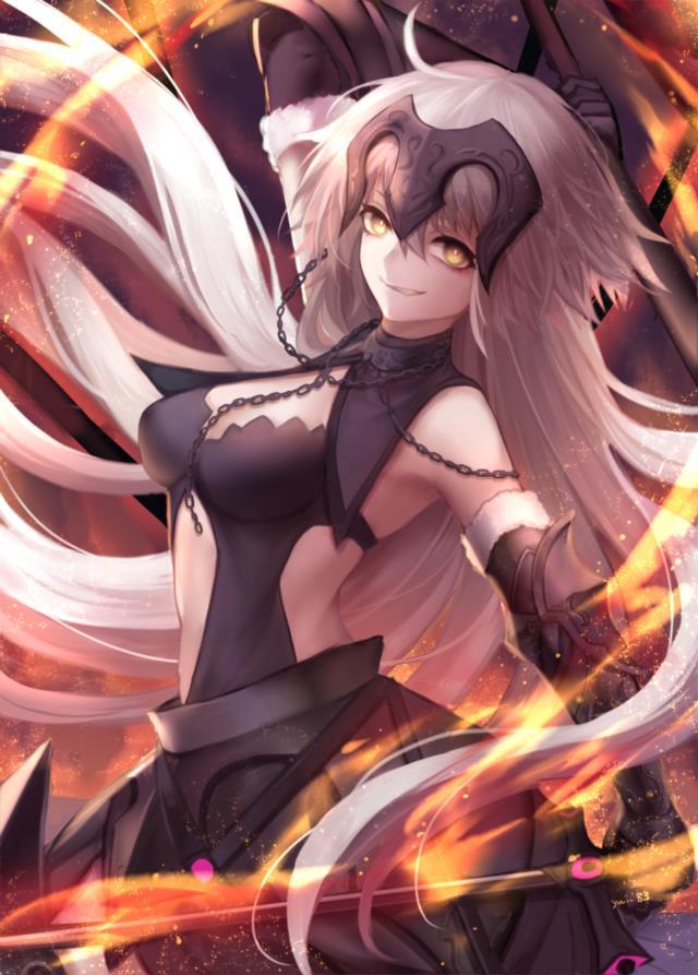 Fate/GrandOrder ジャンヌちゃん(オルタさんもね!)のエロ画像まとめ-29