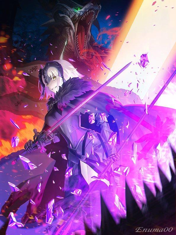 Fate/GrandOrder ジャンヌちゃん(オルタさんもね!)のエロ画像まとめ-52