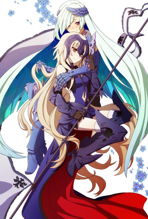 Fate/GrandOrder ジャンヌちゃん(オルタさんもね!)のエロ画像まとめ-37