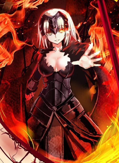 Fate/GrandOrder ジャンヌちゃん(オルタさんもね!)のエロ画像まとめ-64