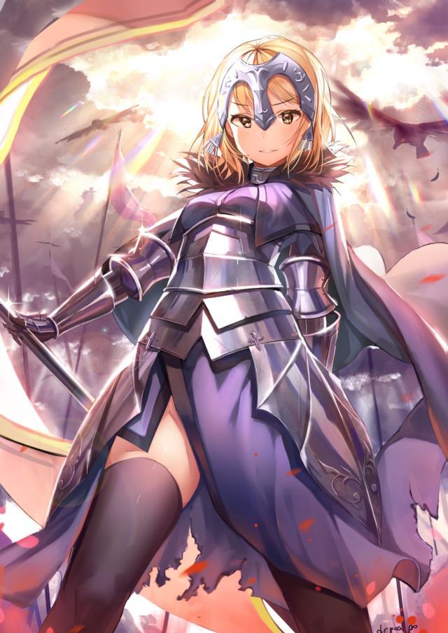 Fate/GrandOrder ジャンヌちゃん(オルタさんもね!)のエロ画像まとめ-19