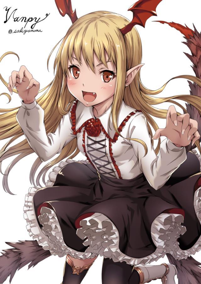 ヴァンピちゃん(グラブル・神撃のバハムート)の愛くるしいエロ画像まとめ-42