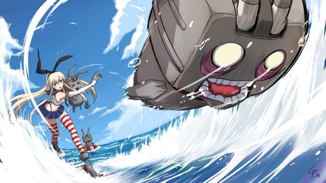ぜかましこと島風(艦これ)のエロ画像まとめ その1-1