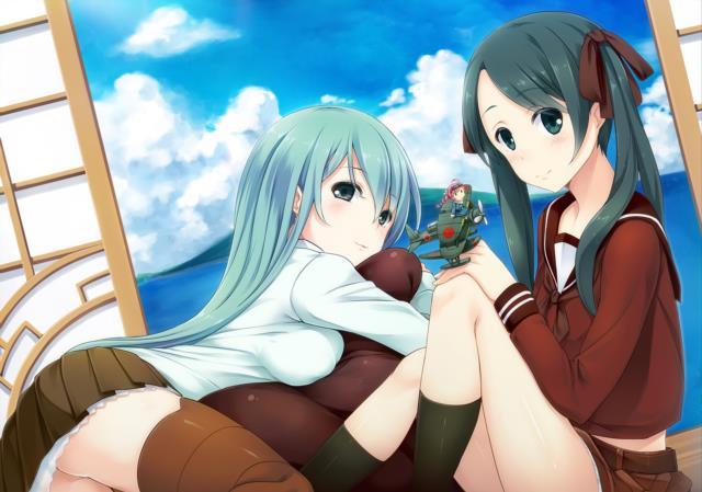 【艦これ】三隈のエロ画像まとめ くまりんこ、お前、そんなにぺったんこだったのか・・・。 その2-34