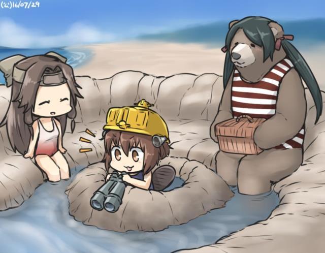 【艦これ】三隈のエロ画像まとめ くまりんこ、お前、そんなにぺったんこだったのか・・・。 その2-5