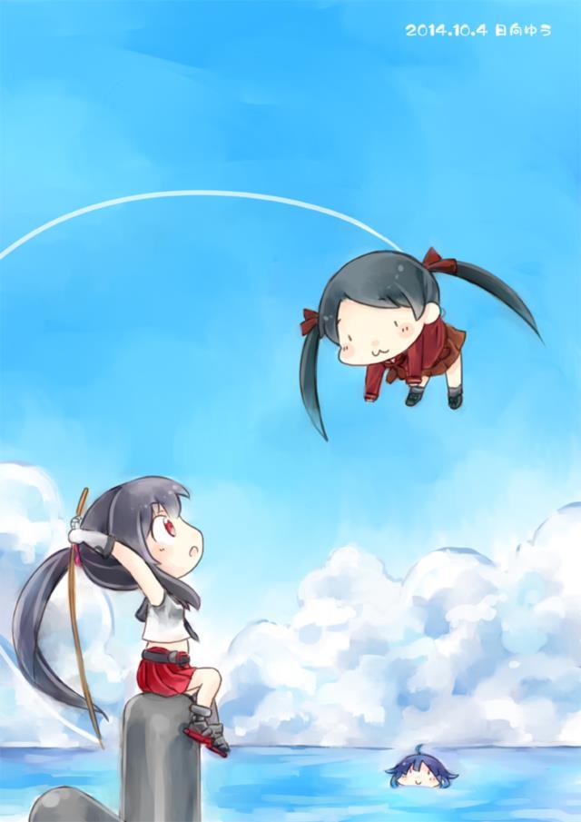 【艦これ】三隈のエロ画像まとめ くまりんこ、お前、そんなにぺったんこだったのか・・・。 その1-7