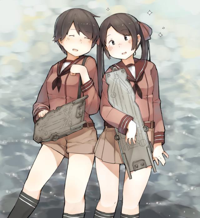 【艦これ】三隈のエロ画像まとめ くまりんこ、お前、そんなにぺったんこだったのか・・・。 その2-16
