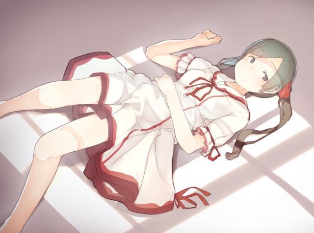 【艦これ】三隈のエロ画像まとめ くまりんこ、お前、そんなにぺったんこだったのか・・・。 その2-50