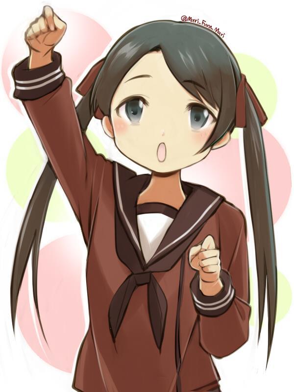 【艦これ】三隈のエロ画像まとめ くまりんこ、お前、そんなにぺったんこだったのか・・・。 その2-10