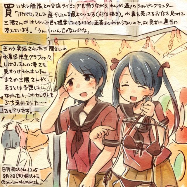 【艦これ】三隈のエロ画像まとめ くまりんこ、お前、そんなにぺったんこだったのか・・・。 その1-11