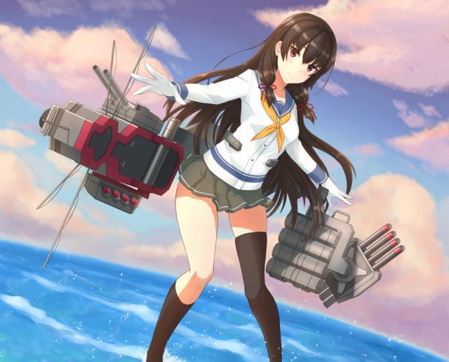 【艦これ】磯風のエロ画像まとめ その圧倒的な胸部装甲 part1-35