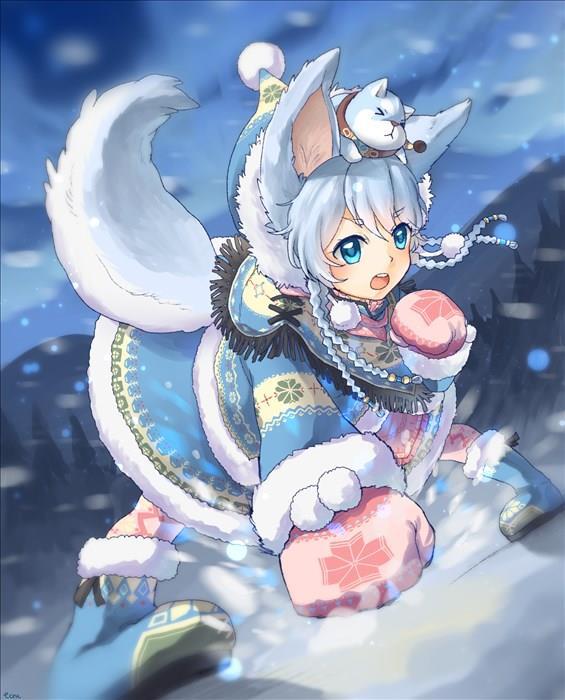 コヨミちゃん(白猫プロジェクト)の幼女かわいい画像まとめ-10