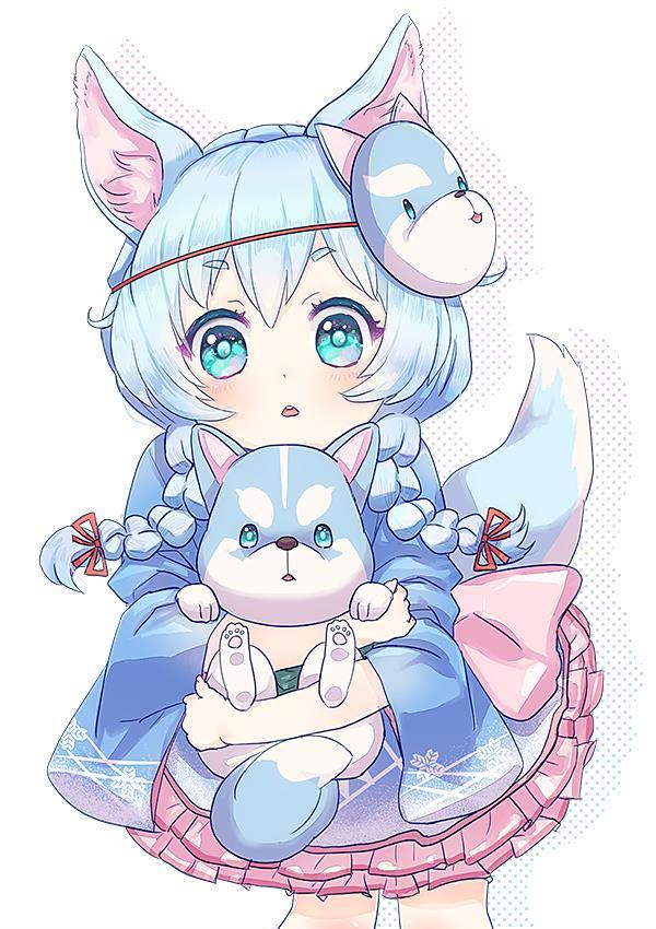 コヨミちゃん(白猫プロジェクト)の幼女かわいい画像まとめ-16