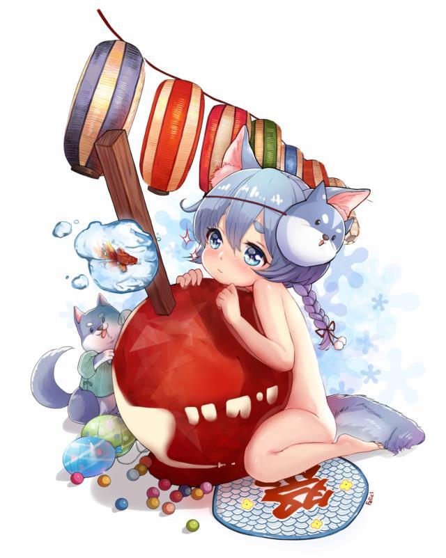 コヨミちゃん(白猫プロジェクト)の幼女かわいい画像まとめ-19