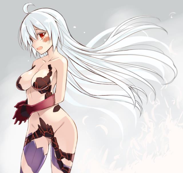 マトイちゃん(PSO2)のエロ画像まとめ 下乳エロすぎいいいい!!! part2-19