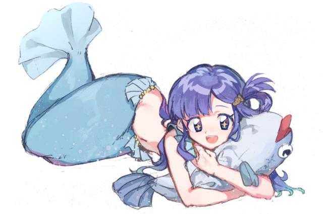 お魚系アイドル、浅利七海ちゃん(デレマス)エロ画像 脚に水がかかると尾びれになりそう-20