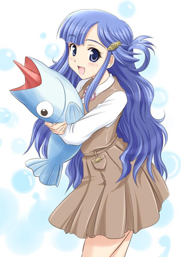 お魚系アイドル、浅利七海ちゃん(デレマス)エロ画像 脚に水がかかると尾びれになりそう-17
