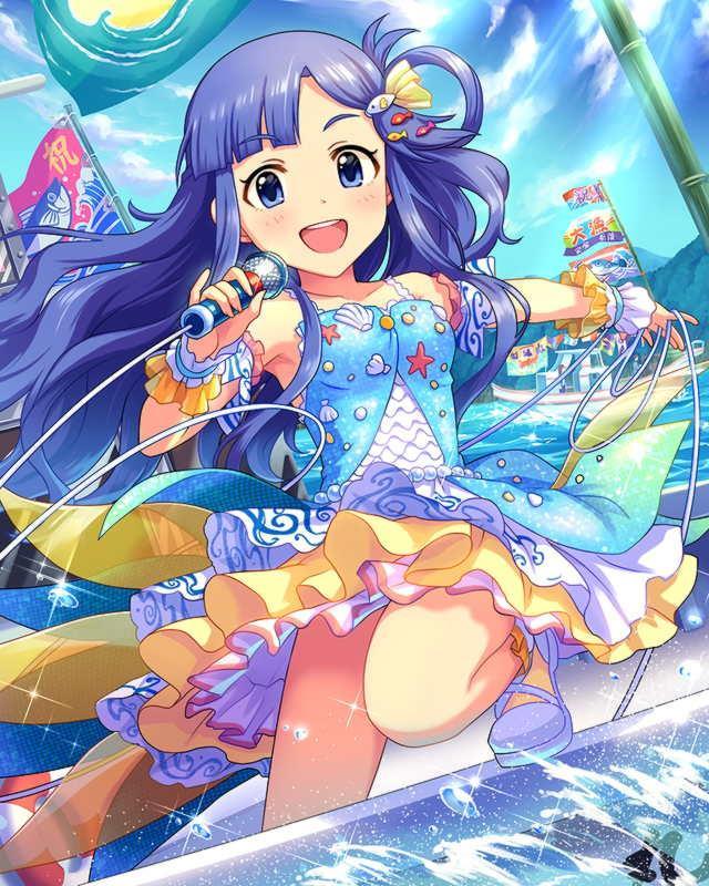 お魚系アイドル、浅利七海ちゃん(デレマス)エロ画像 脚に水がかかると尾びれになりそう-15
