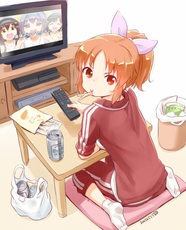 安部菜々ちゃん(デレマス)エロ画像 メイド喫茶で働く宇宙人アイドル()-9