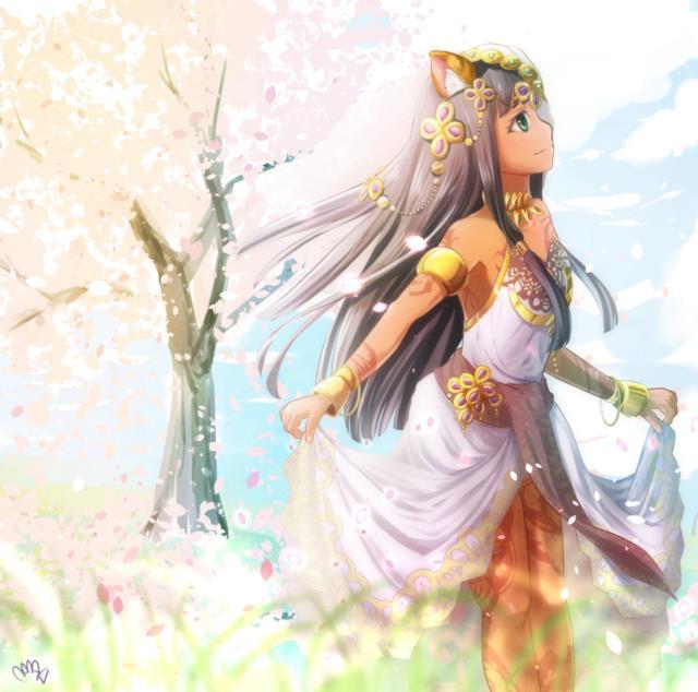 バステトちゃん(バズドラ)のエロ画像まとめ エジプトの神様を褐色ネコ耳幼女にしてしまう日本人の妄想の逞しさよ・・・ part2-2