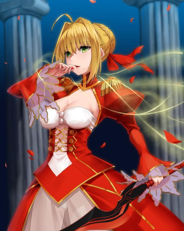赤セイバー(Fateシリーズ)のエロ画像まとめ Fate/EXTRA面白そうwww part3-20
