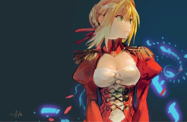 赤セイバー(Fateシリーズ)のエロ画像まとめ Fate/EXTRA面白そうwww part2-14