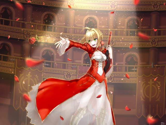 赤セイバー(Fateシリーズ)のエロ画像まとめ Fate/EXTRA面白そうwww part2-7