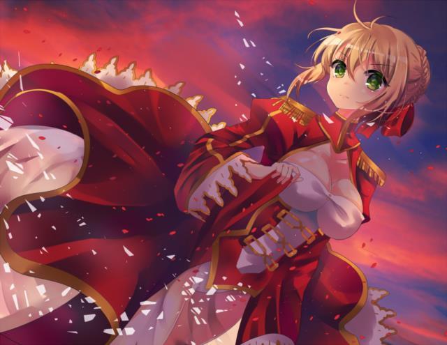 赤セイバー(Fateシリーズ)のエロ画像まとめ Fate/EXTRA面白そうwww part3-25