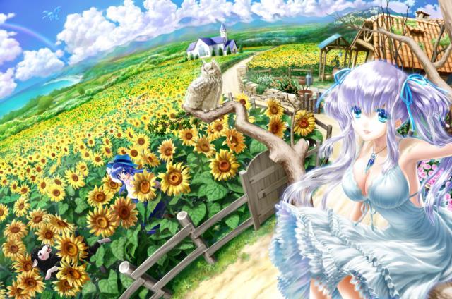 ナオちゃん(マビノギ)のエロ画像まとめ 銀髪ツインテール+巨乳=結婚してください!-24