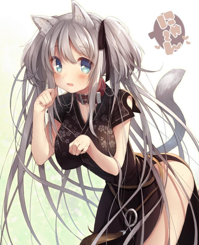 ナオちゃん(マビノギ)のエロ画像まとめ 銀髪ツインテール+巨乳=結婚してください!-21