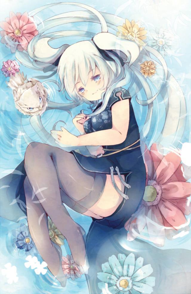 ナオちゃん(マビノギ)のエロ画像まとめ 銀髪ツインテール+巨乳=結婚してください!-14