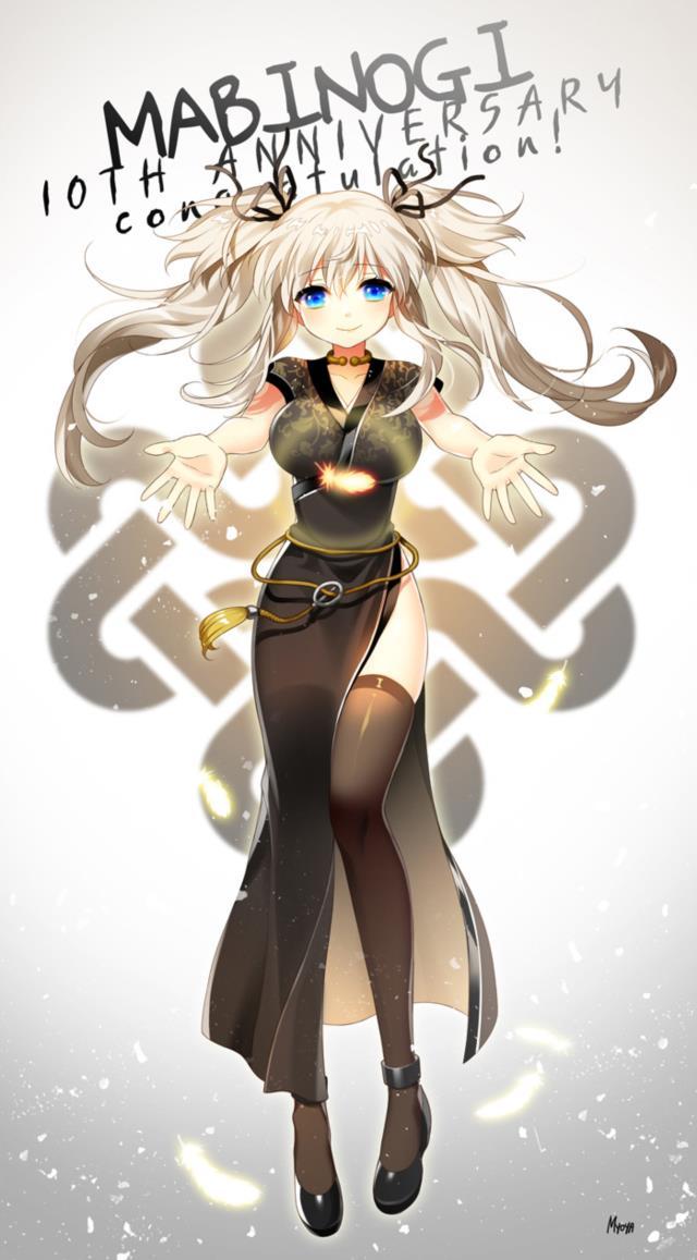 ナオちゃん(マビノギ)のエロ画像まとめ 銀髪ツインテール+巨乳=結婚してください!-6