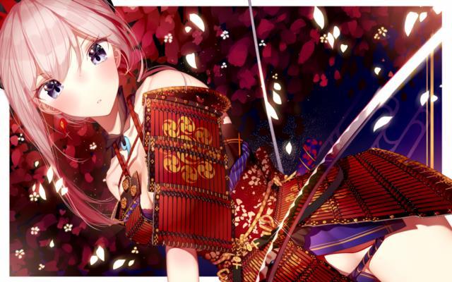 宮本武蔵(FGO)のエロ画像。伝説の剣豪も美少女に・・・。 vol.2-8