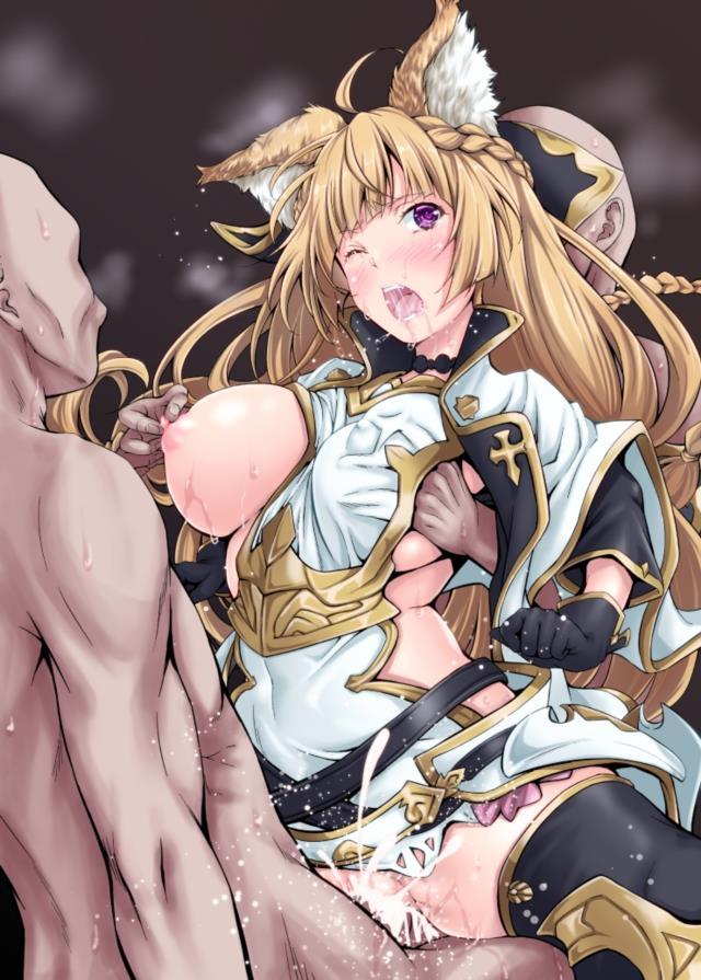 ユイシス(グラブル)のエロ画像。もふもふキツネ耳かわいい姐さん・・・かわいいw-4