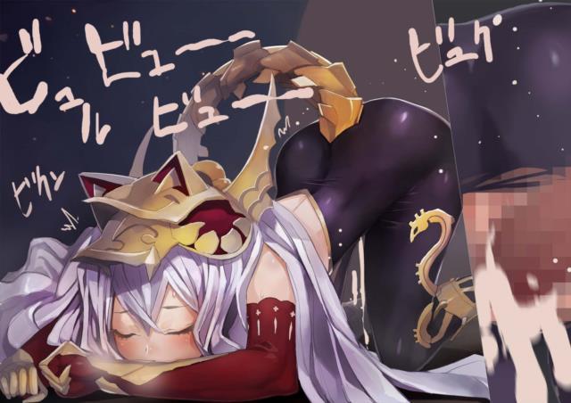 メドゥーサちゃん(神撃のバハムート、グラブル)のエロ画像。□リっこのえっちい腰つき。たまらん。-26